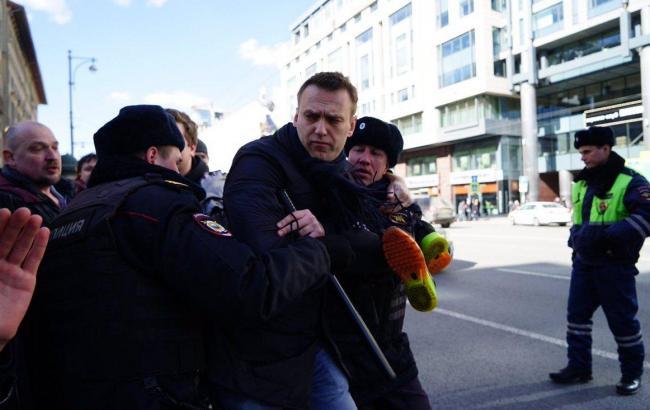 Фото: задержание в центре Москвы