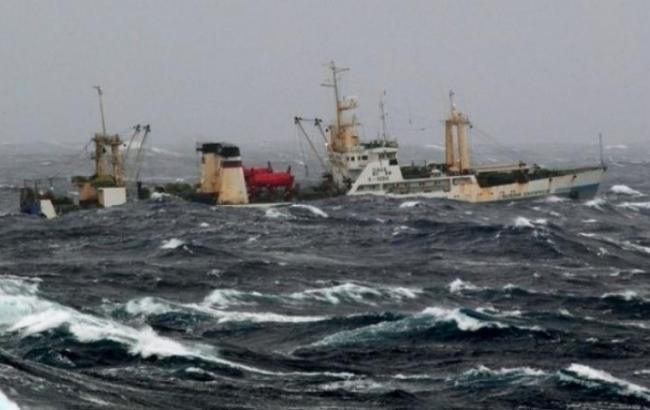 На затонулому траулері в Охотському морі були громадяни України