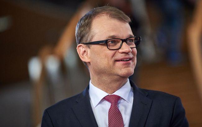Фото: премьер-министр Финляндии Юха Сипиля