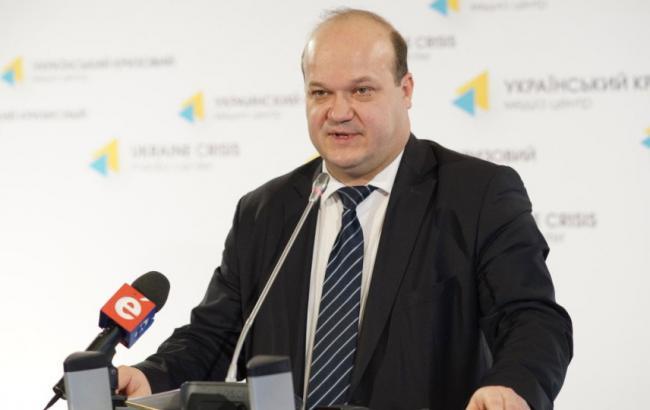 Фото: украинский посол в США Валерий Чалый