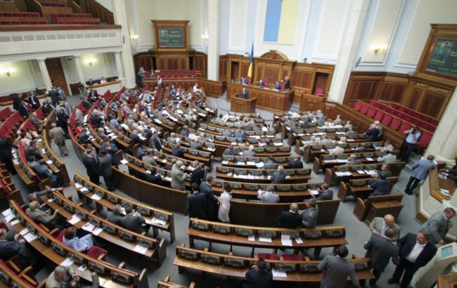 Рада ухвалила у першому читанні законопроект про режим воєнного стану