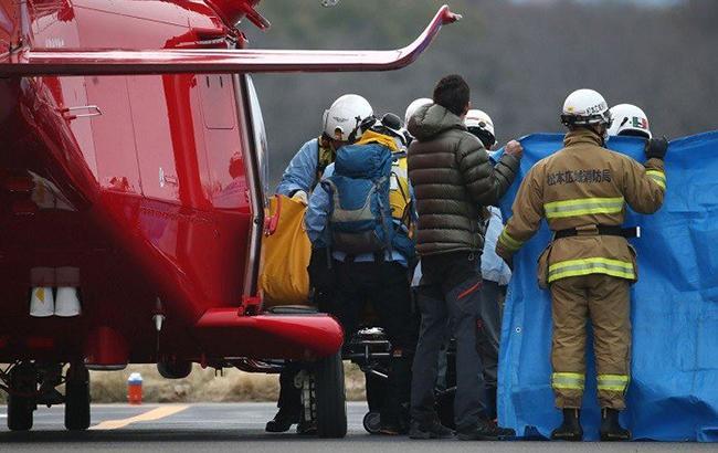 ВЯпонии разбился грузовой вертолет, погибли 4 человека