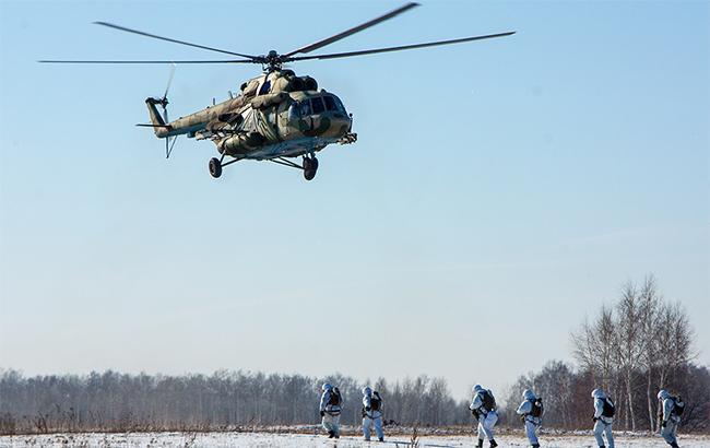 В Чечне разбился вертолет погранслужбы РФ