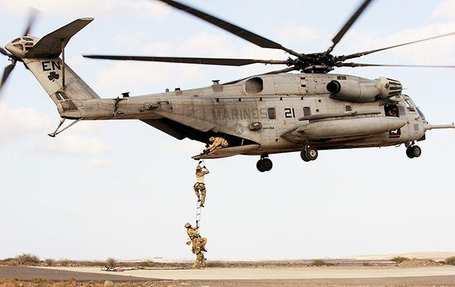 ВСША разбился крупнейший военный вертолет, есть жертвы