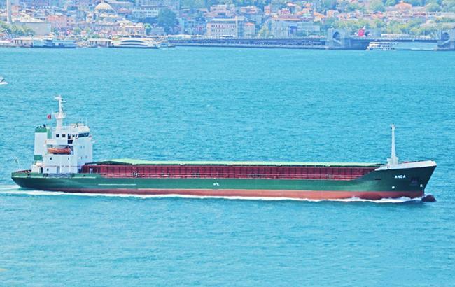 Фото: суховантаж Anda (vesselfinder.com)
