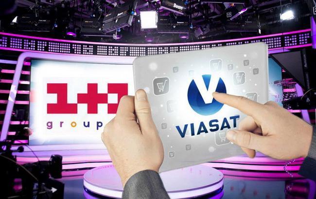 """Фото: АМКУ не дає """"1+1"""" завершити операцію з придбання Viasat"""