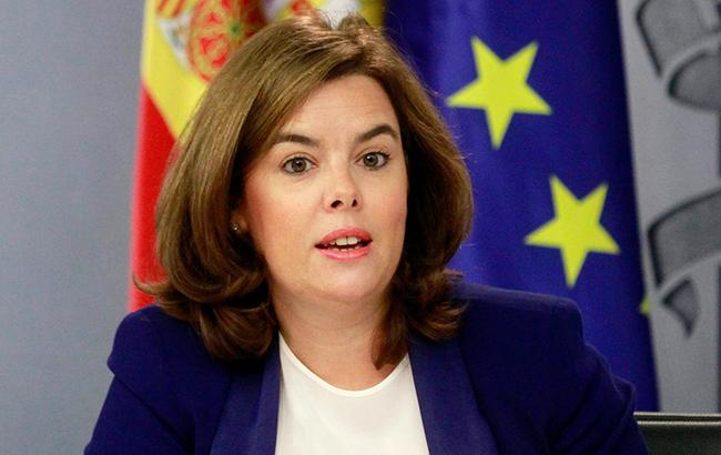 Фото: Сорайя Саэнс де Сантамария (Vicepresidencia del Gobierno de España)