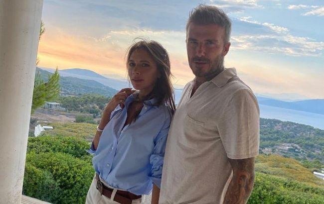 Идеальная пара: Виктория Бекхэм показала нежное фото с мужем в честь его 46-летия