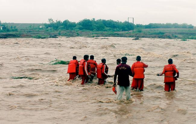 Наводнение в Индии: число погибших возросло до 97 человек