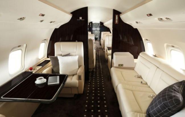 Фото:  Bombardier Challenger 850 (vistajet.com)