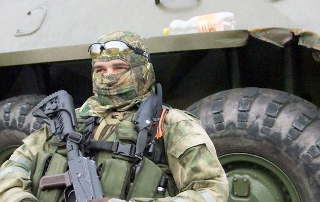 Фото: боевик на Донбассе (vk.com/sdd_sevastopol)