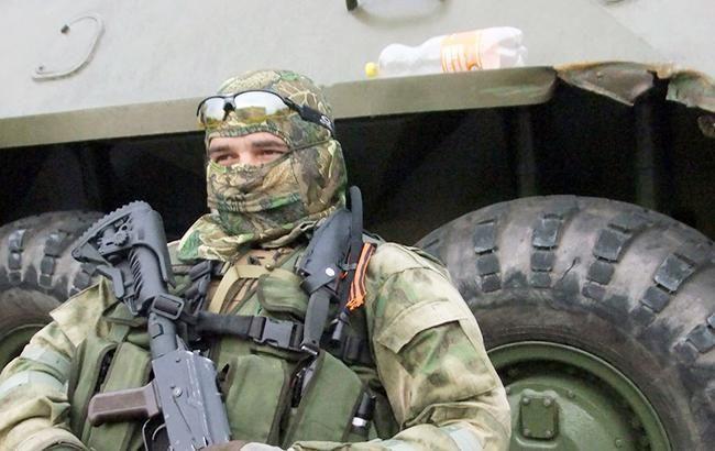 Фото: бойовик на Донбасі (vk.com/sdd_sevastopol)