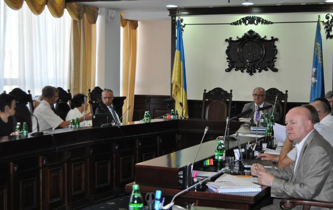 Фото: засідання Вищої кваліфікаційної комісії суддів (прес-служба ВККСУ)