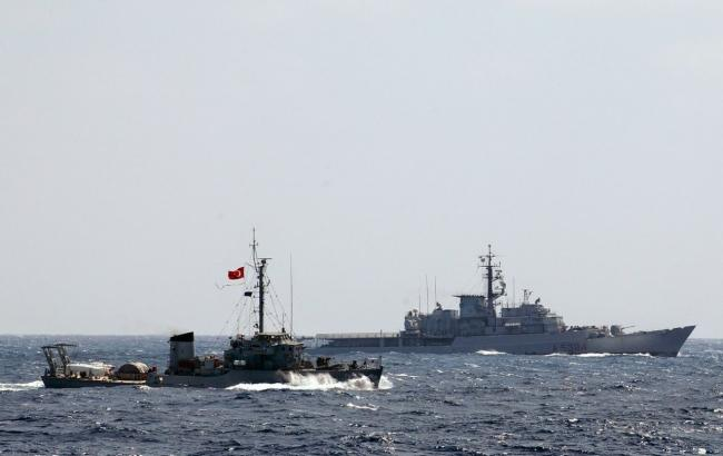 Фото: ВМС Турции и России провели совместные учения в Черном море