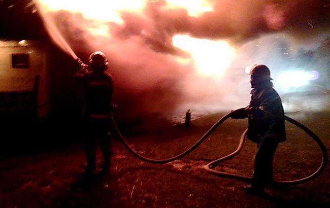 В Боярке произошел пожар на электроподстанции