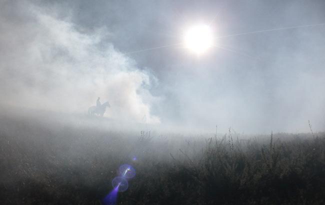 """Сто осіб масовки і коні: Під Києвом відзняли наймасштабнішу сцену """"Ворошиловграда"""""""
