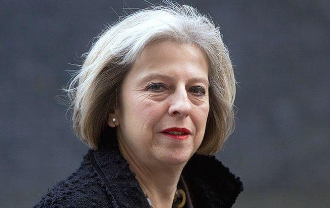 Фото: премьер-министр Британии Тереза Мэй