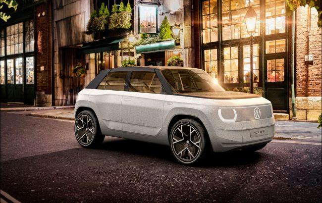 Volkswagen показал бюджетный электромобиль с проектором вместо приборов и кинотеатром