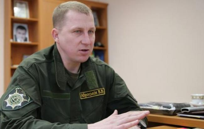 Фото: начальник управління Нацполіціі в Донецькій області В'ячеслав Аброськін
