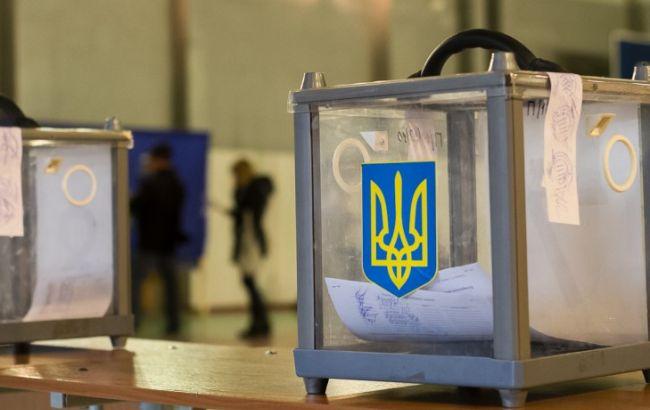 Фото: выборы в объединенных территориальных общинах