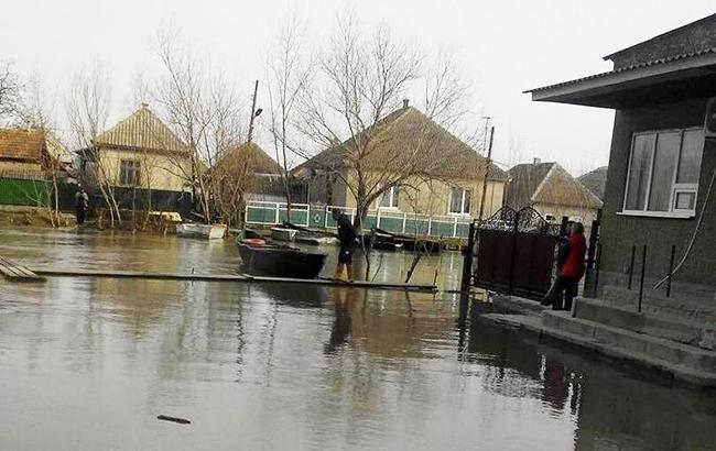 Синоптики предупреждают о подтоплении половины города Вилково