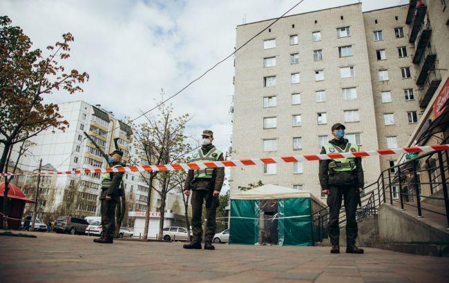 Вспышка COVID-19 под Киевом: Нацгвардия взяла под охрану общежитие в Вишневом