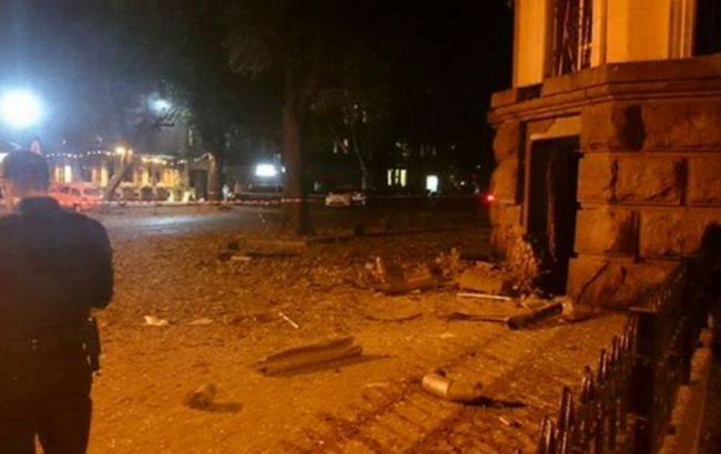 Біля будівлі СБУ в Одесі вночі стався вибух