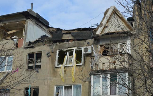 Фото: вибух газу в Українську