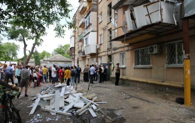 Фото: последствия взрыва (фото: Думская.net)