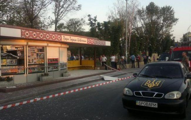 За фактом вибуху кіоску в Броварах порушено справу