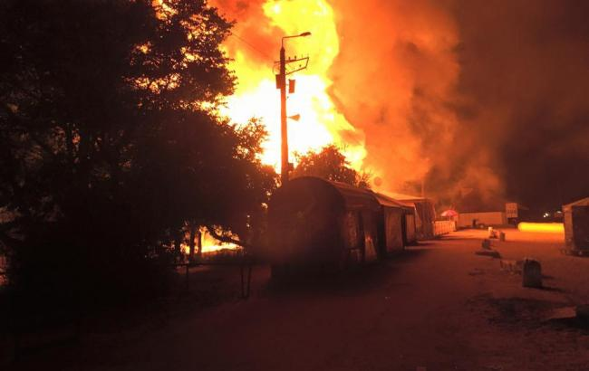 Фото: в Одессе загорелся ночной клуб