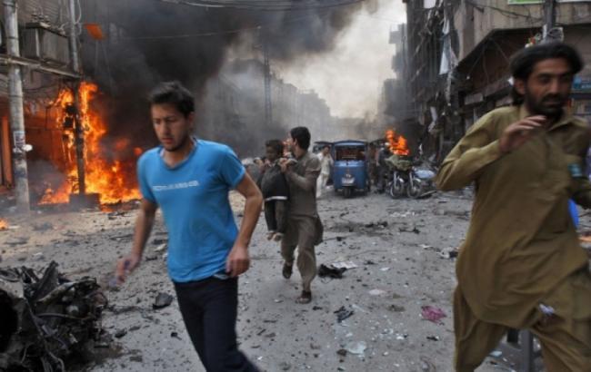 Фото: на востоке Афганистана произошел взрыв