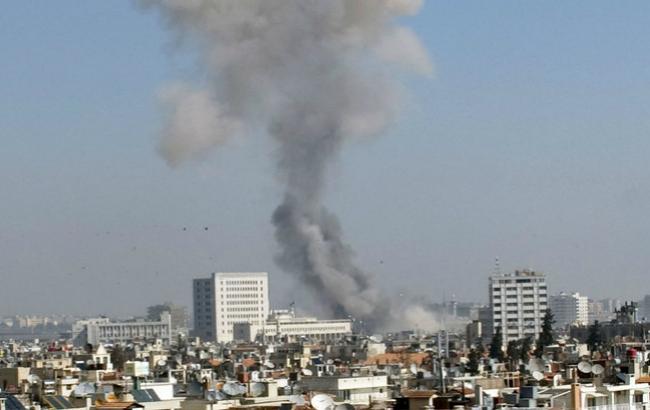 Фото: взрывы в Сирии
