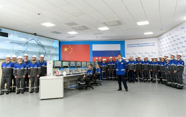 """""""Газпром"""" начал поставки газа в Китай по трубопроводу """"Сила Сибири"""""""