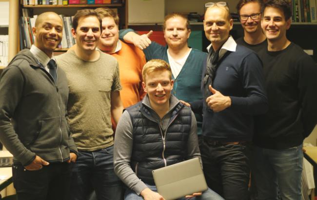 Фото: Команда стартапу (ain.ua)