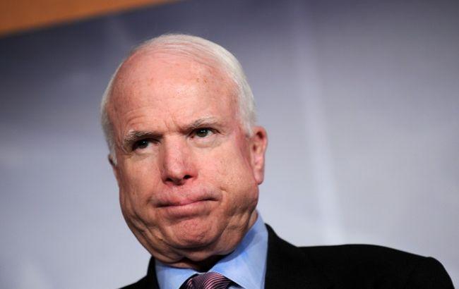 Маккейн пообіцяв подальшу підтримку України в боротьбі з російською агресією