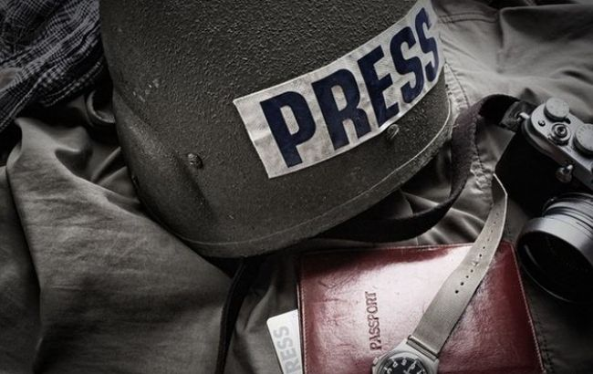 Фото: по опасности для журналистов Украина в одном ряду с Россией и Турцией