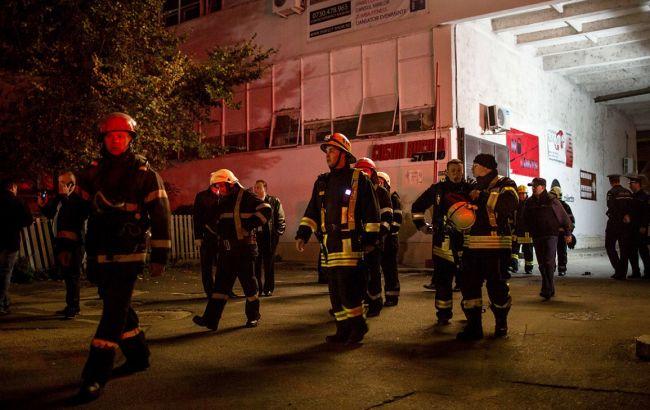 Внаслідок пожежі в нічному клубі в Бухаресті постраждала 41 людина