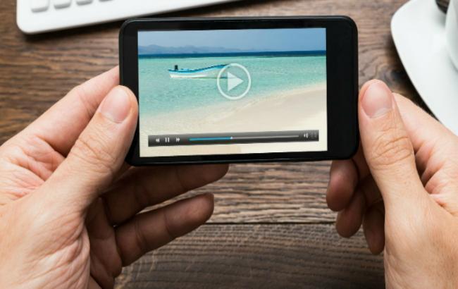Фото: украинцы стали чаще смотреть видео на мобильных устройствах