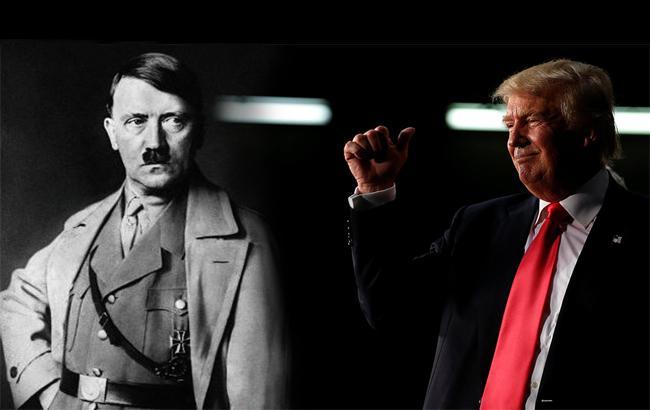 Фото: Дональд Трамп и Адольф Гитлер (life.ru)
