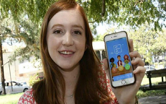 Фото: школьница создала мобильное приложение для поиска компаньонов на обед