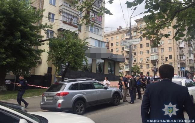 Стрілянина в центрі Києва: поліція розглядає версію замовного вбивства
