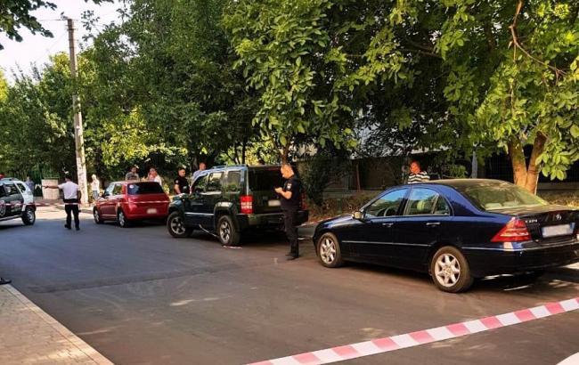 В Одесі внаслідок стрілянини був ранений чоловік