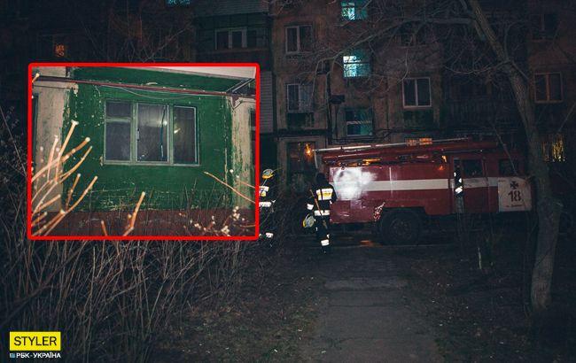 Гори ясно: в Днепре мужчина развел костер посреди своей квартиры