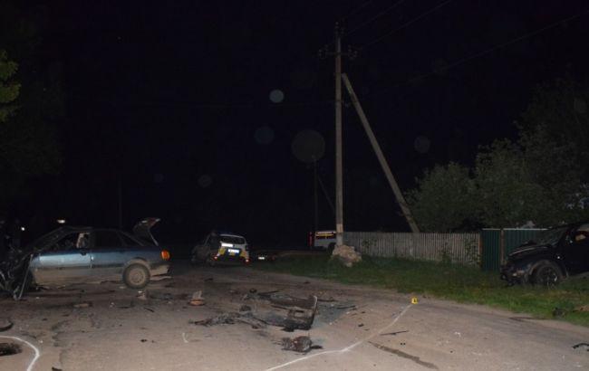 У Вінницькій області п'яний поліцейський влаштував ДТП, є жертви