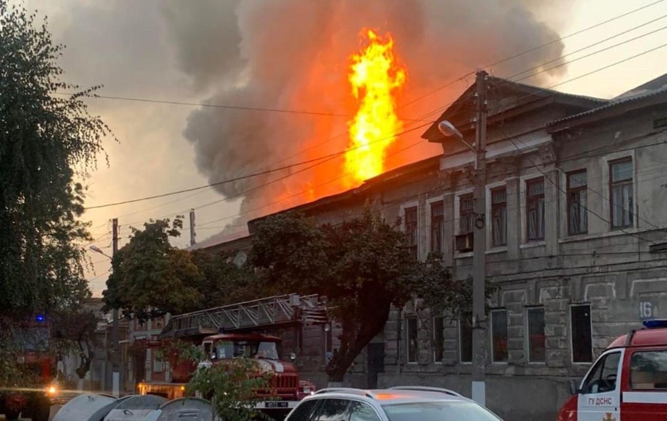 Пожар в доме в Харькове: количество жертв возросло