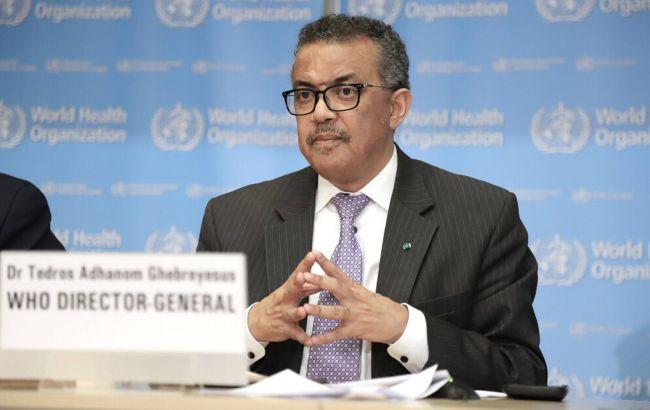 Глава ВООЗ закликав передати COVAX 10 млн доз вакцини для нужденних країн