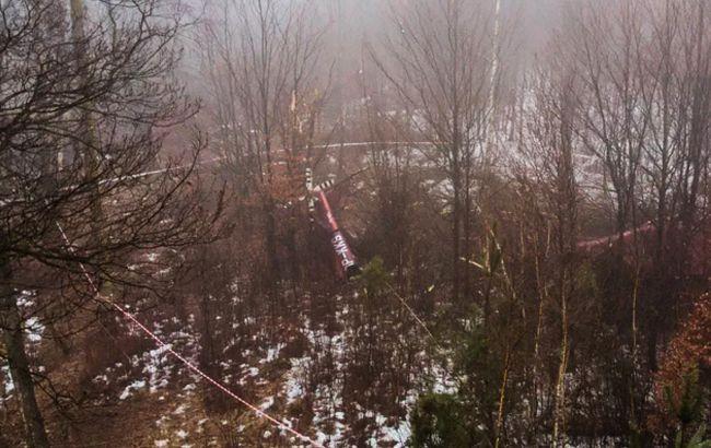 В Польше разбился частный вертолет, два человека погибли