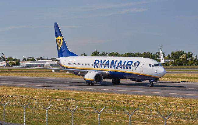 Ryanair за пів року втратила понад 400 млн євро через пандемію