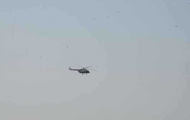 У Сирії збили ще один військовий вертоліт режиму Асада
